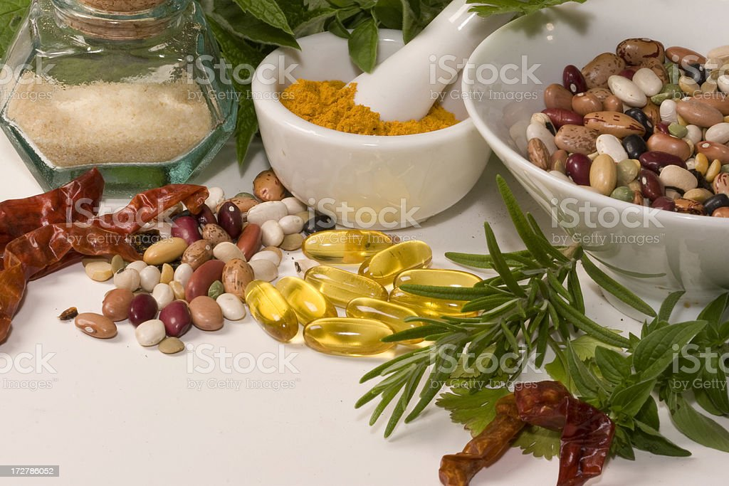 Herbs series royalty-free stock photo