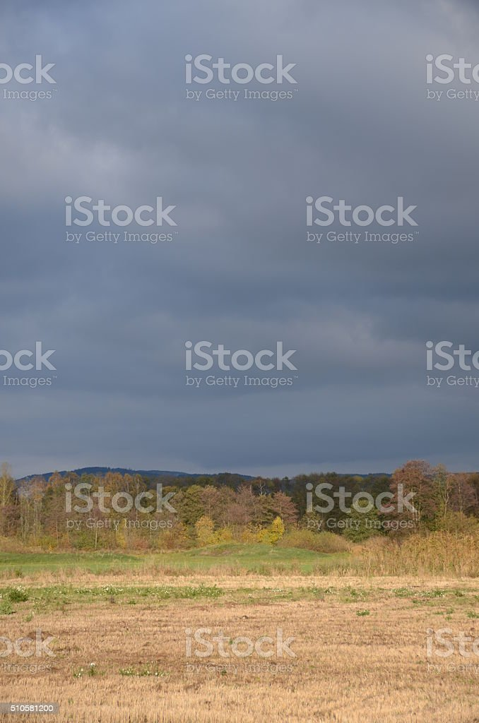 Herbstlandschaft stock photo