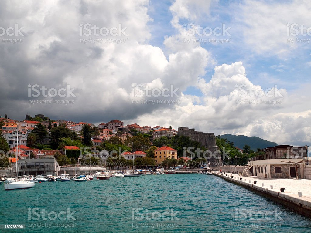 Herceg Novi. royalty-free stock photo