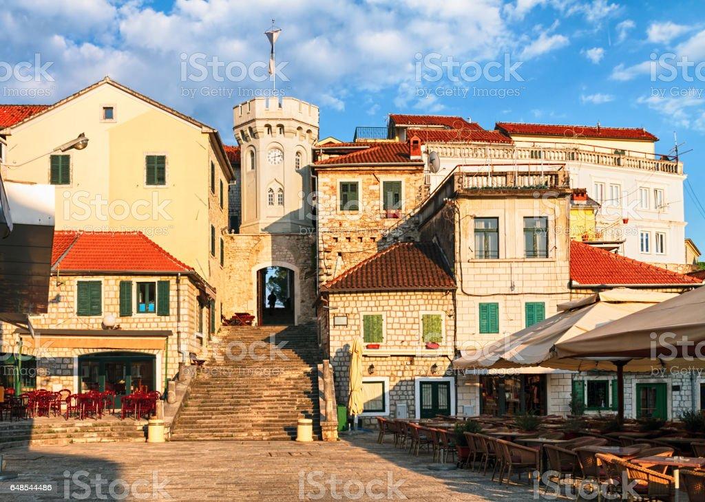 Herceg Novi stock photo