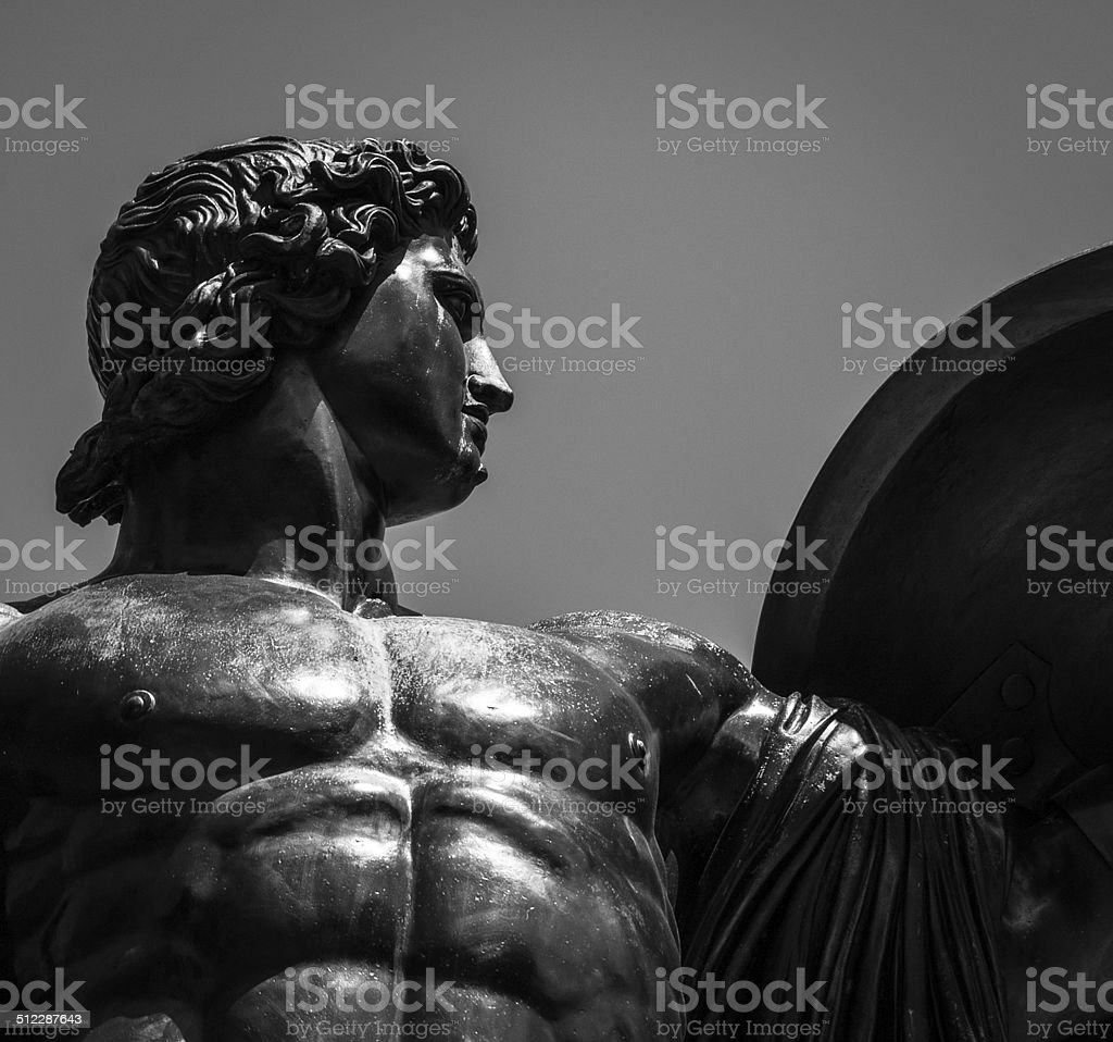Hercules in Hyde Park stock photo