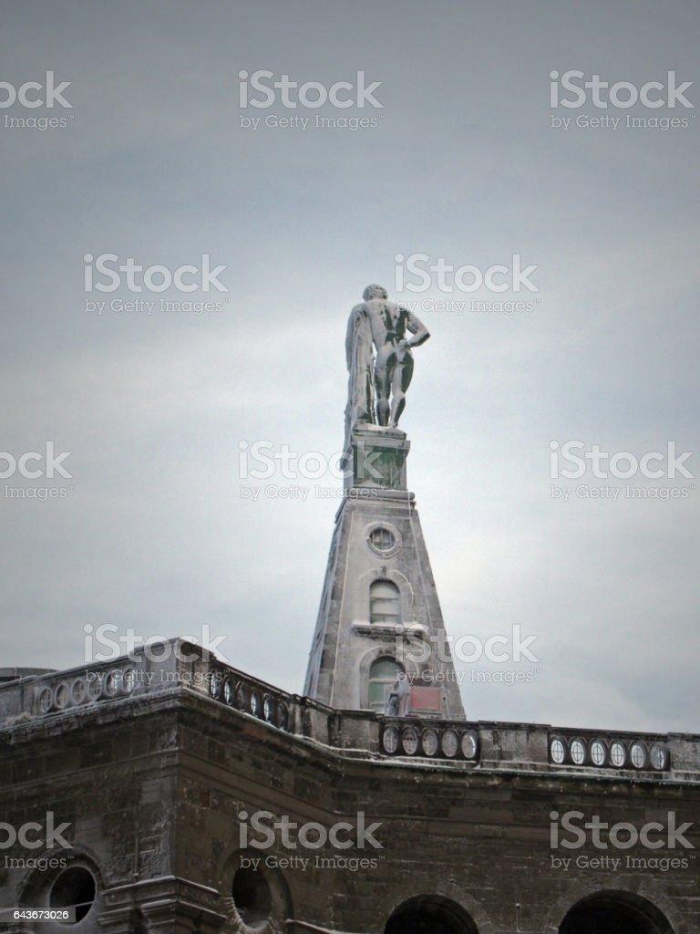 Hercules monument of Kassel stock photo