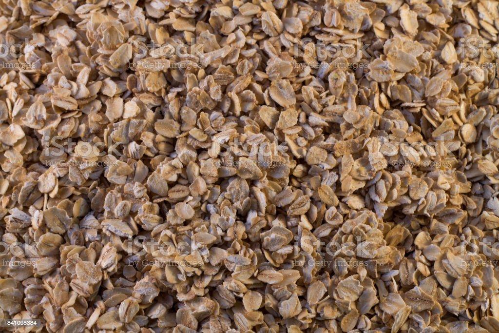 Hercules. oat flakes. texture stock photo