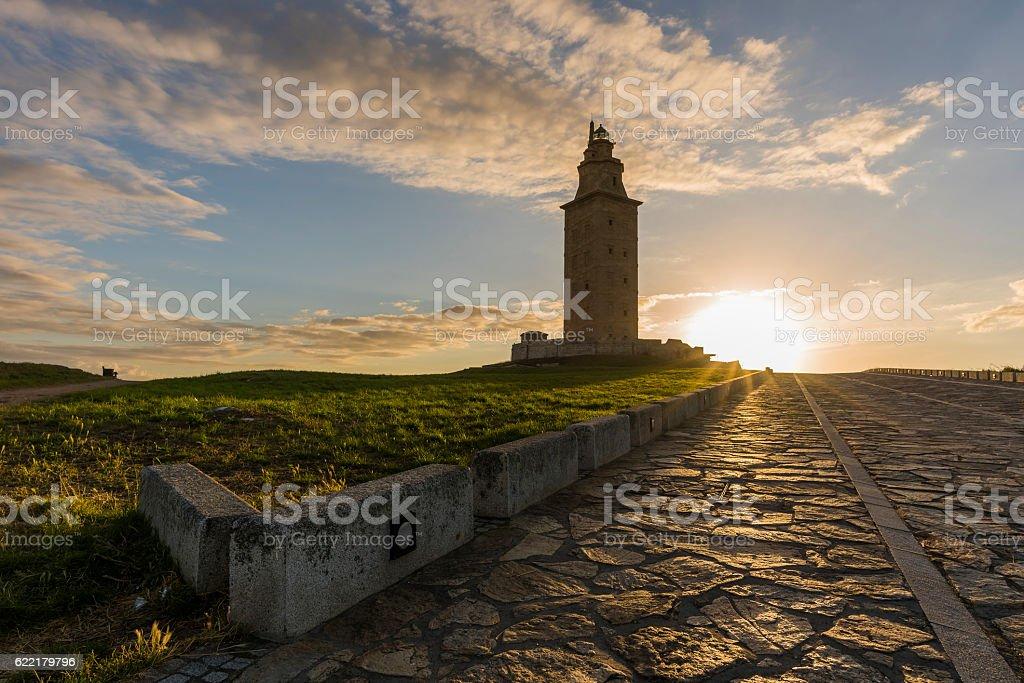 Hercules Tower. stock photo
