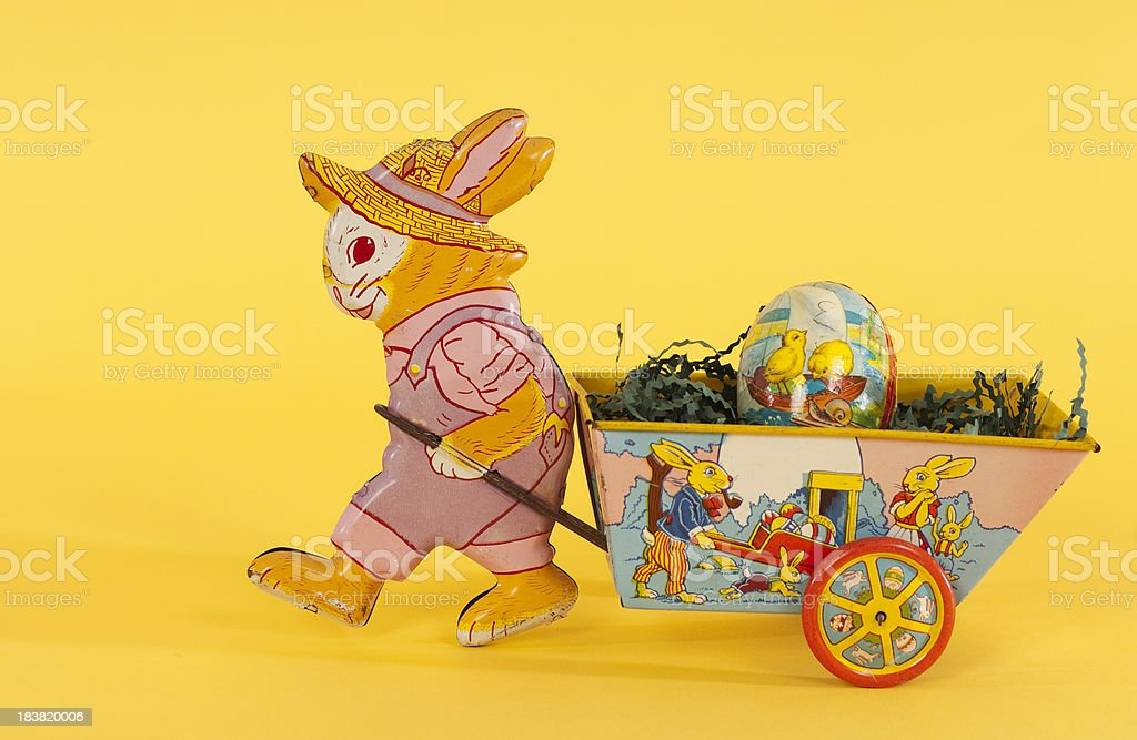 Here Comes The Easter Bunny stock photo