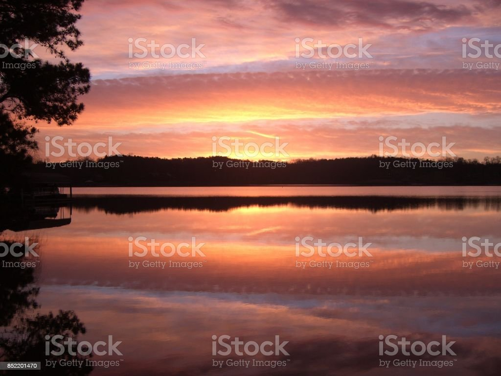 Here comes the sun! stock photo