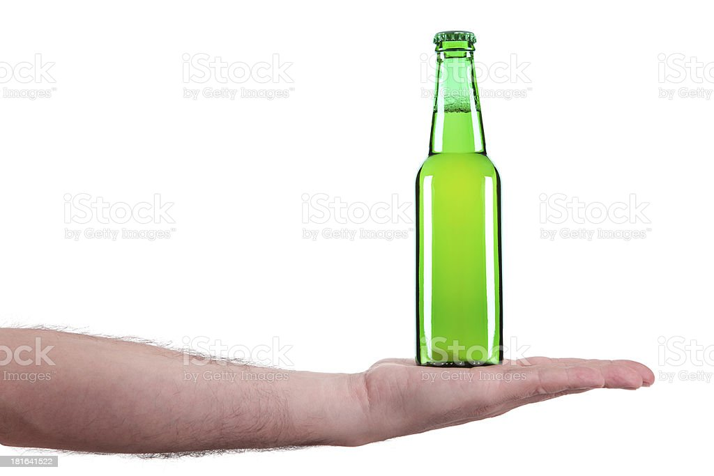 Here is the beer royalty-free stock photo
