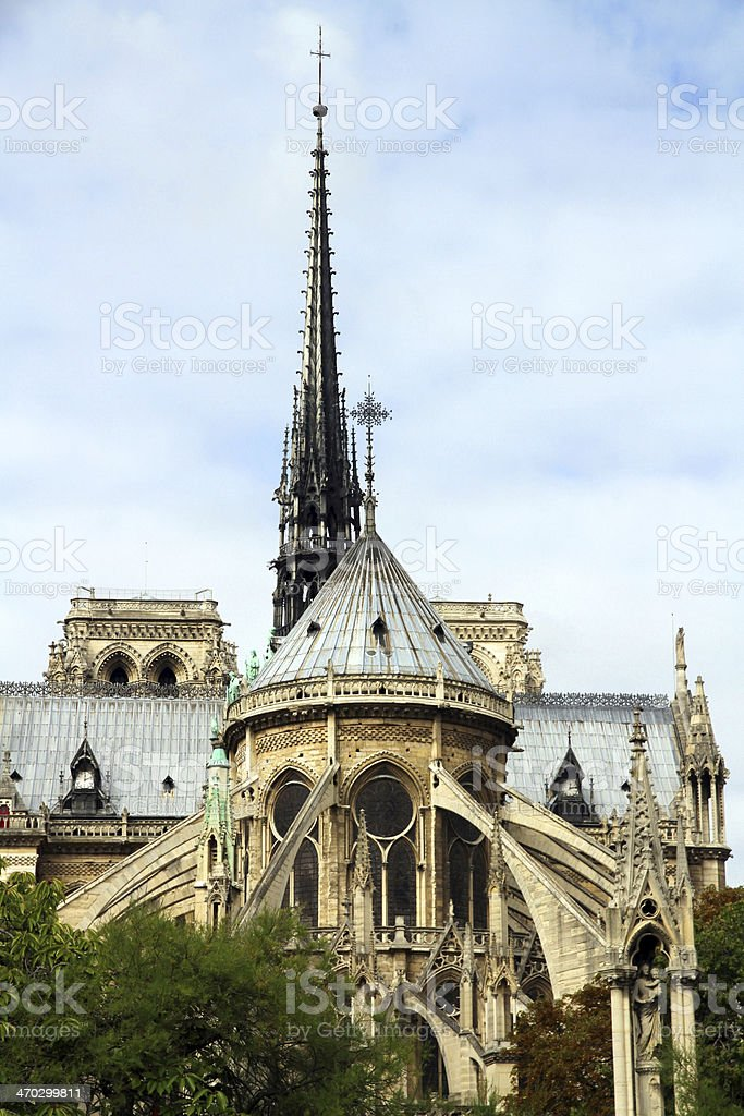 Here is the Church royalty-free stock photo