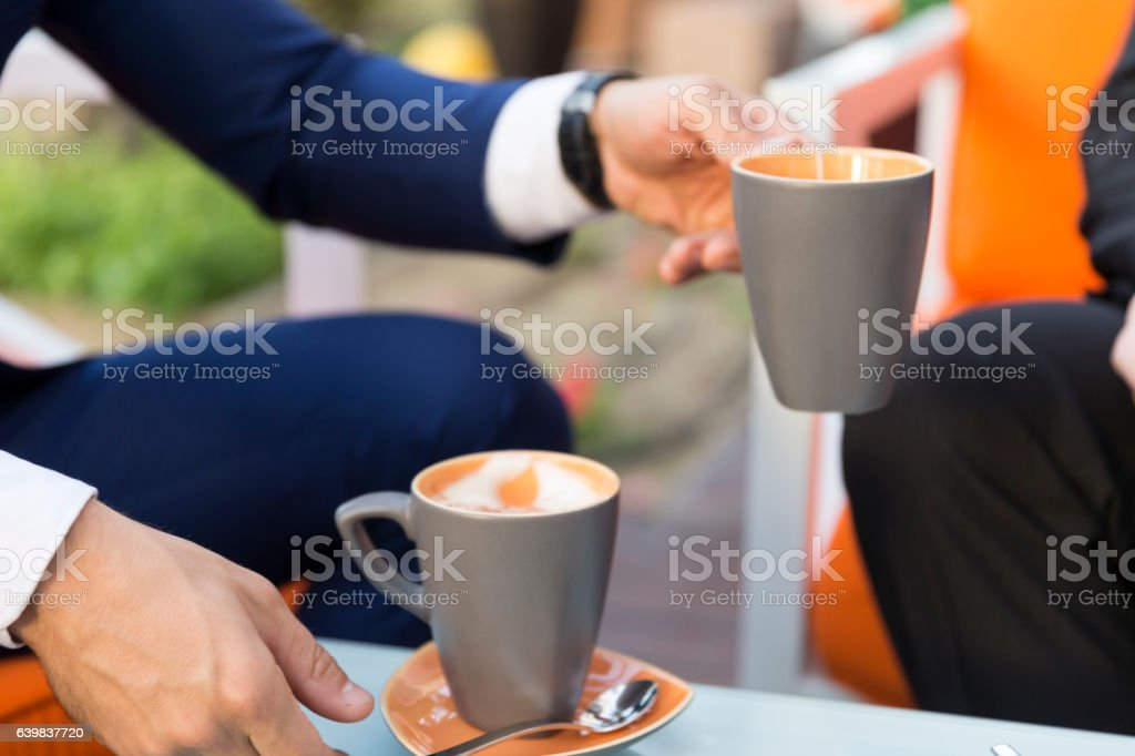 Here is your coffee stock photo
