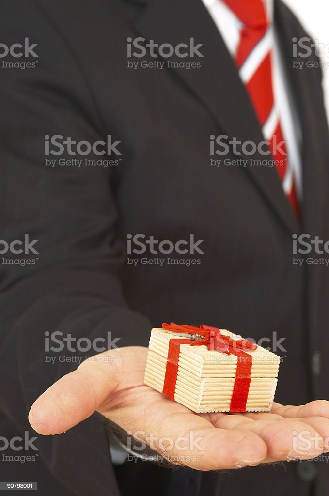 here is your gift royalty-free stock photo