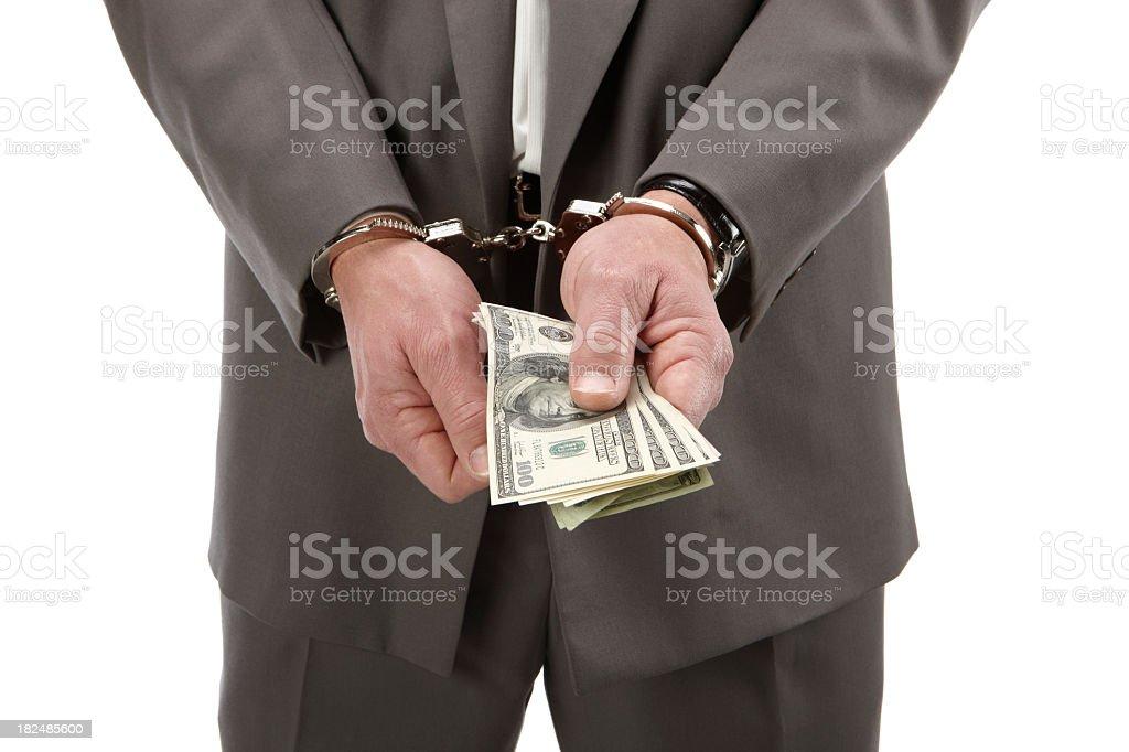 Here take the money stock photo