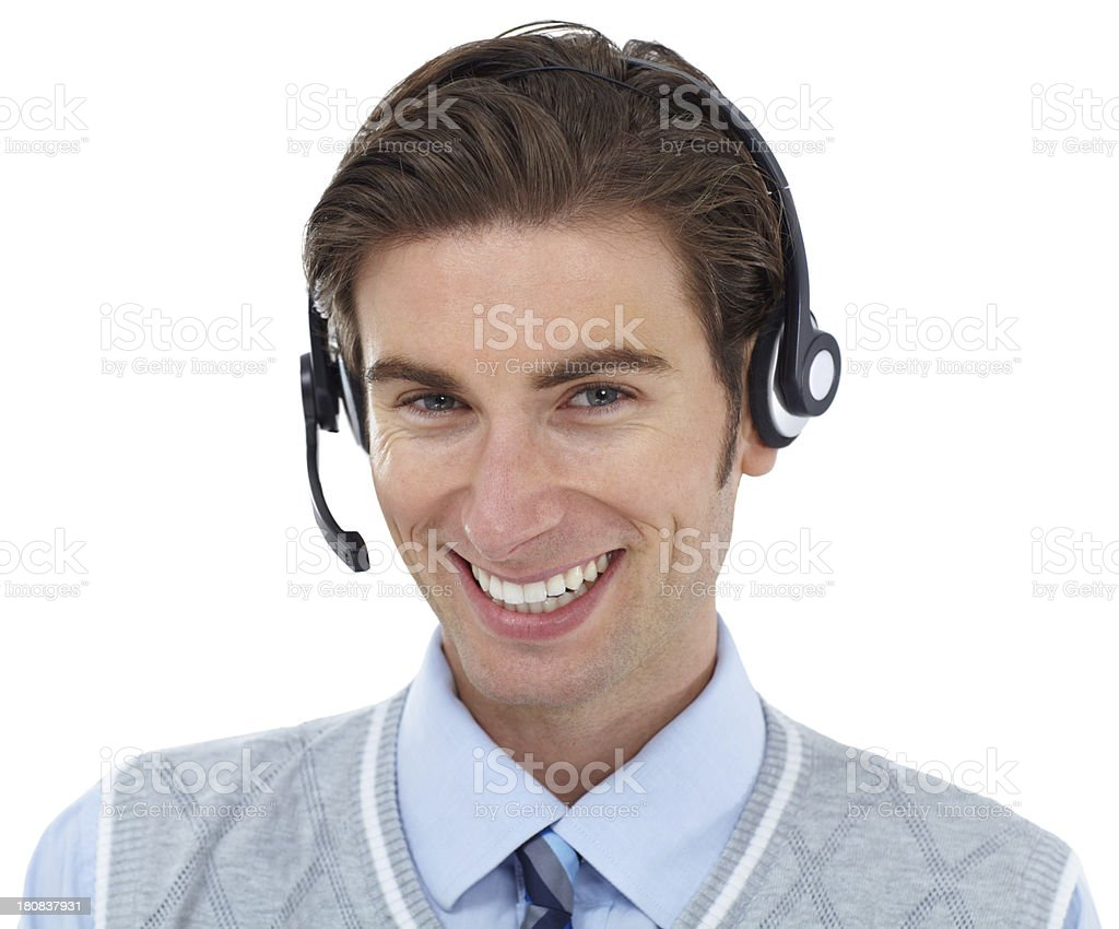 Here to help! stock photo