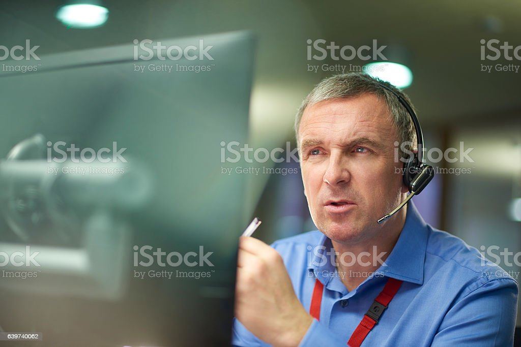 here to help stock photo