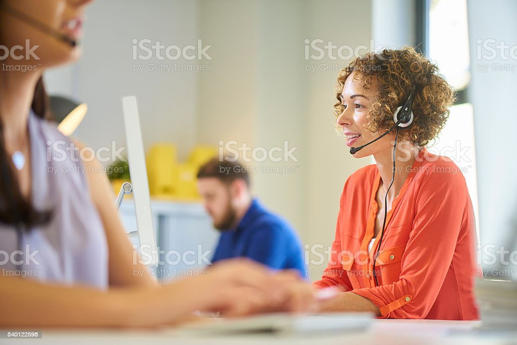 here to help you stock photo
