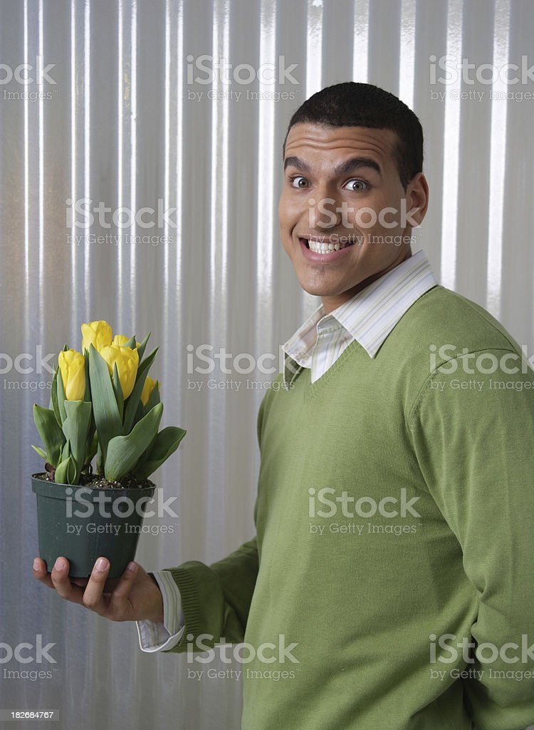 Here you go royalty-free stock photo