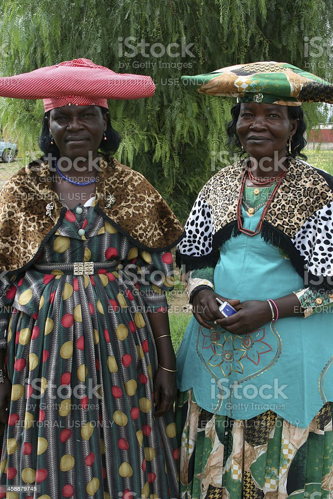 Herero Women royalty-free stock photo