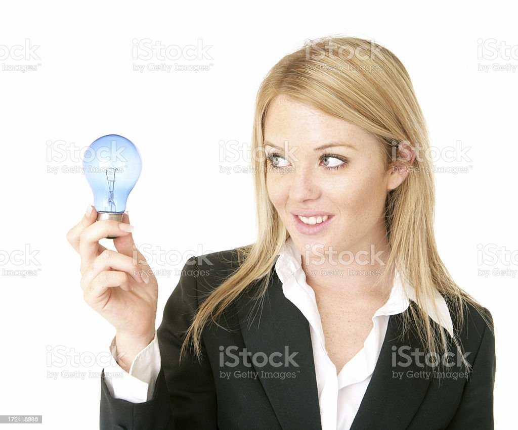 Here's an Idea royalty-free stock photo