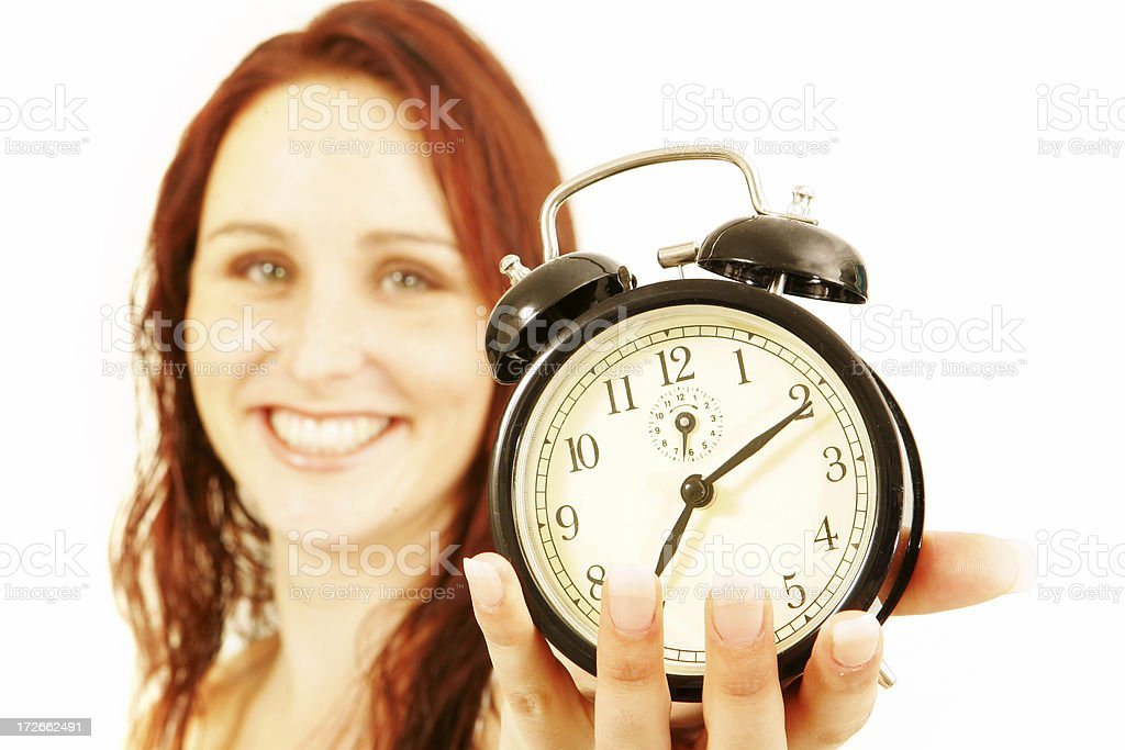 Here's Time royalty-free stock photo