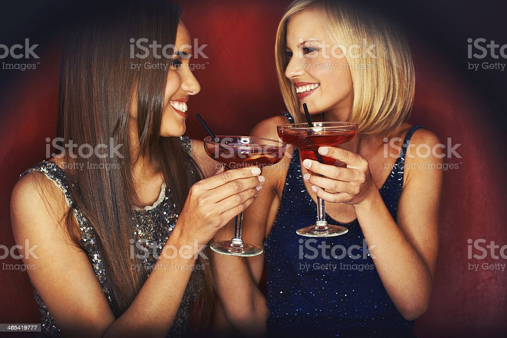 Here's to a great night! stock photo