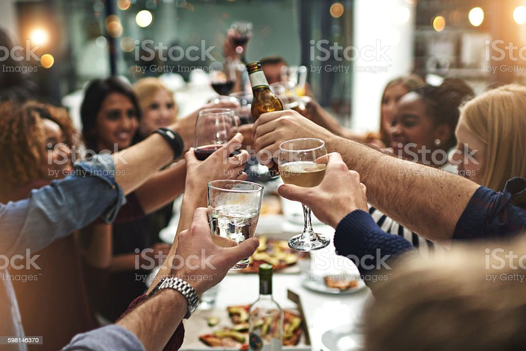 Here's to many more stock photo