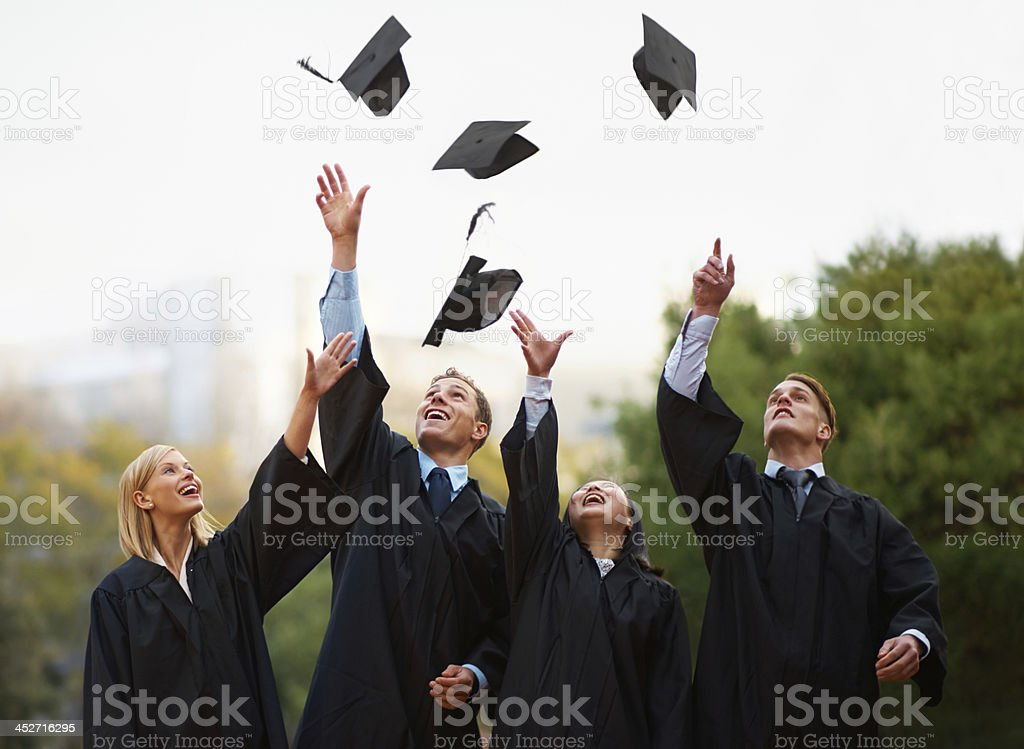 Here's to the rest of our lives! stock photo