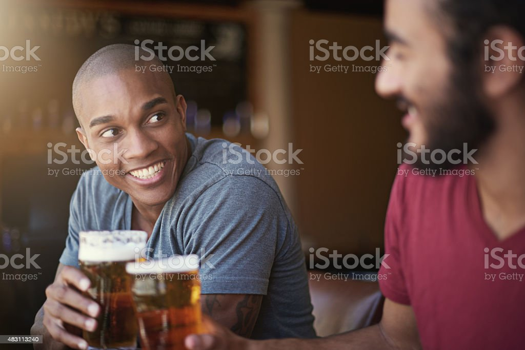 Here's to the weekend! stock photo