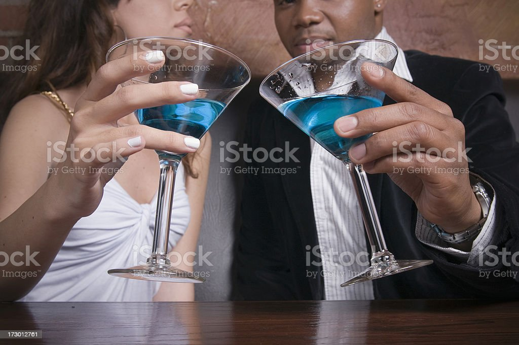 Here's to You, a Toast royalty-free stock photo