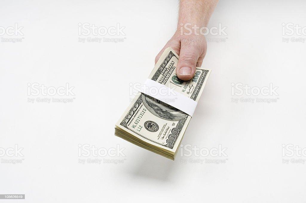 heres su dinero foto de stock libre de derechos