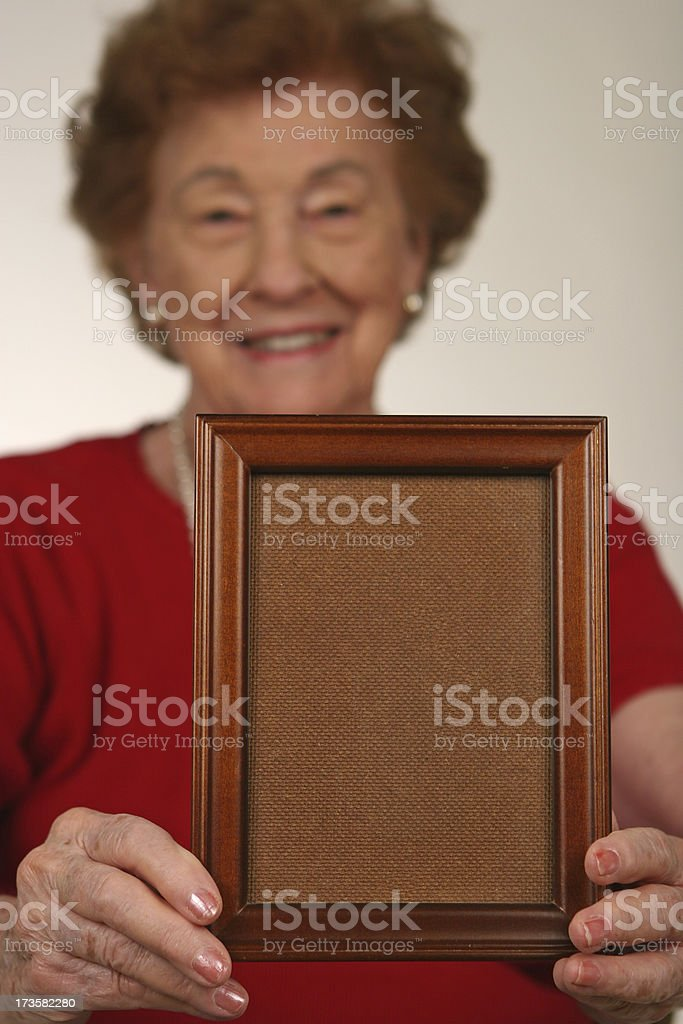 Here's your picture royalty-free stock photo