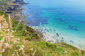 Heritage Coast Atlantic ocean, Cornwall, England