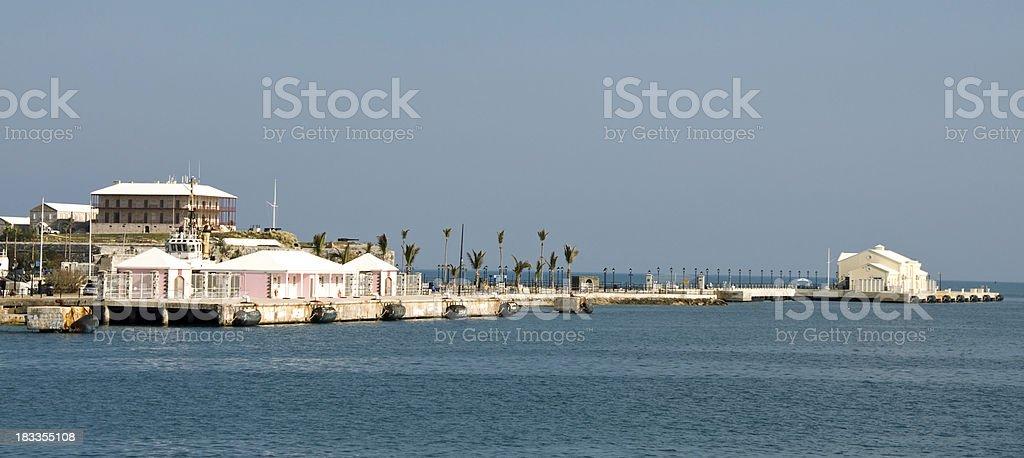 Heritage House and Maritime Museum at the  Bermuda Dockyard stock photo
