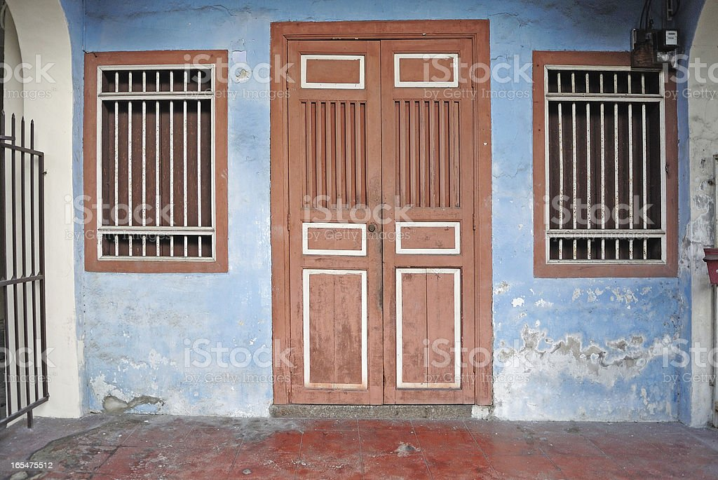 Heritage House, George Town, Penang, Malaysia royalty-free stock photo