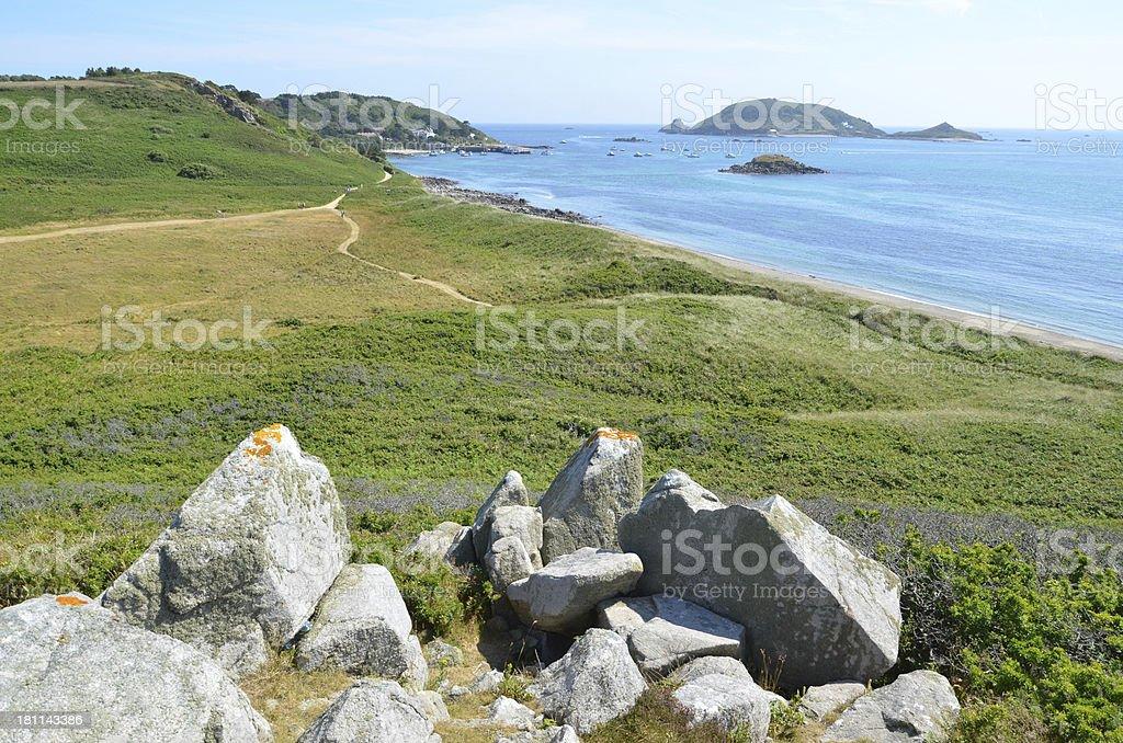 Herm Island royalty-free stock photo