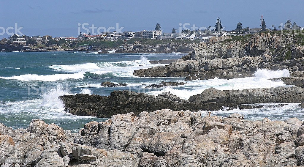 Hermanus stock photo