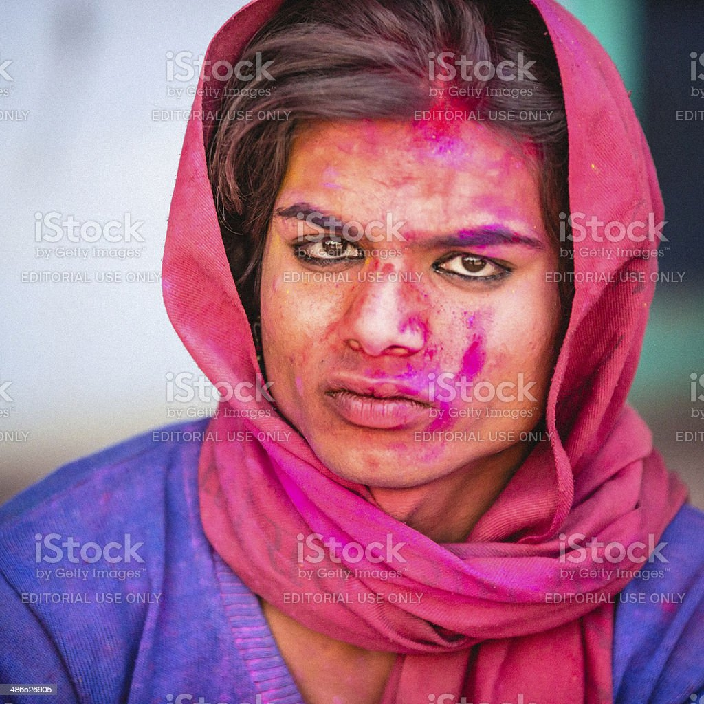 Hermaphrodite stock photo
