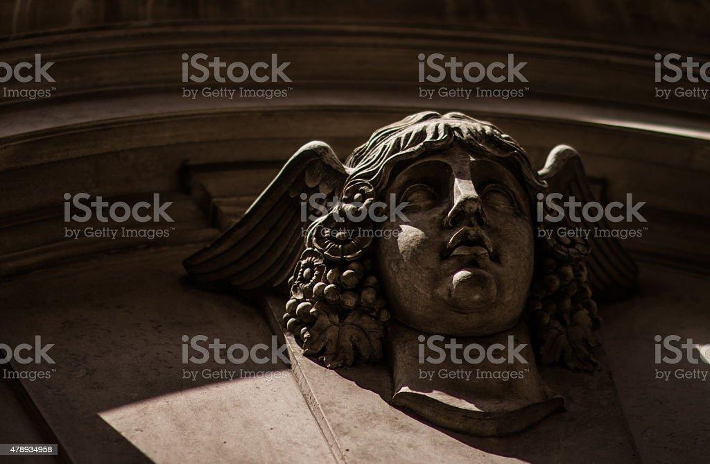 Hermes w skrzydlaty Hełm zbiór zdjęć royalty-free