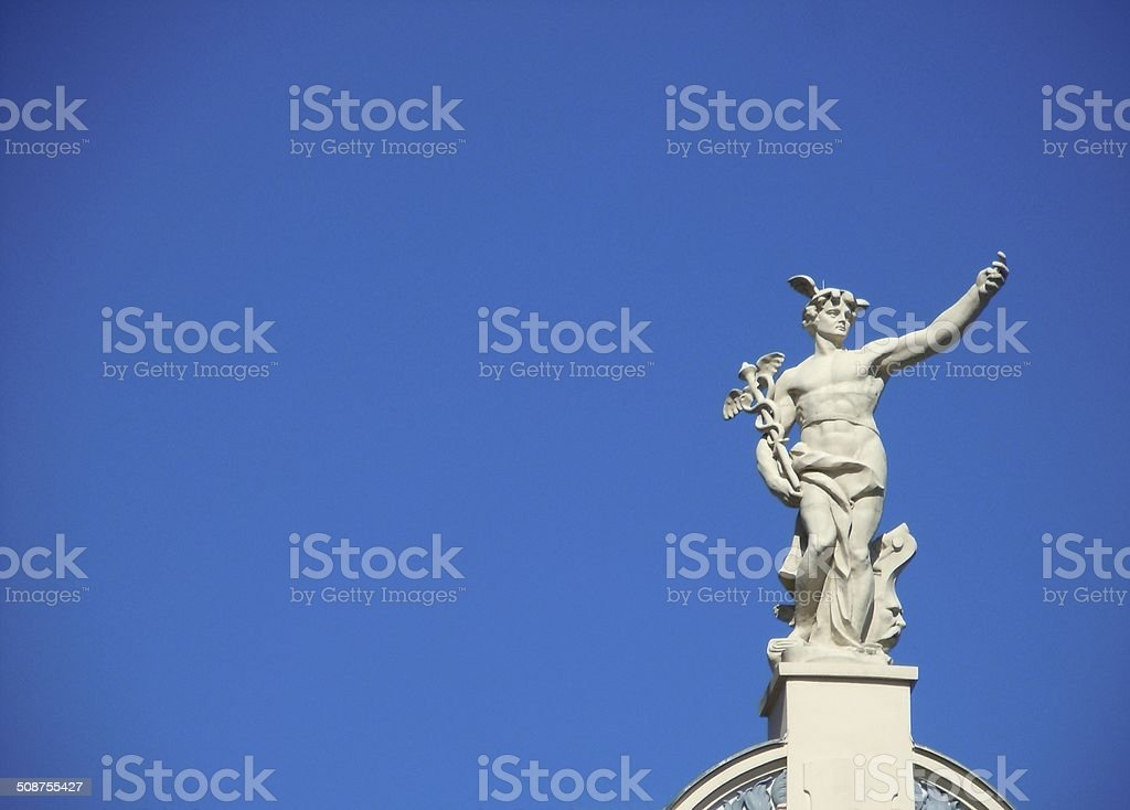 Hermes stock photo