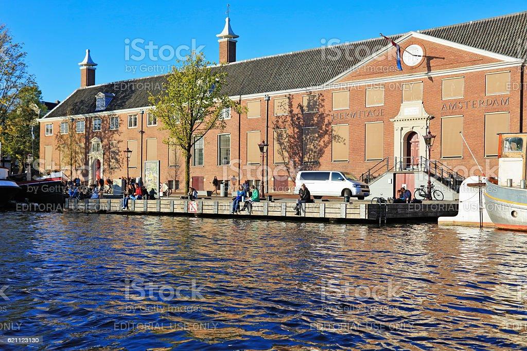 Hermitage Amsterdam, Netherlands stock photo