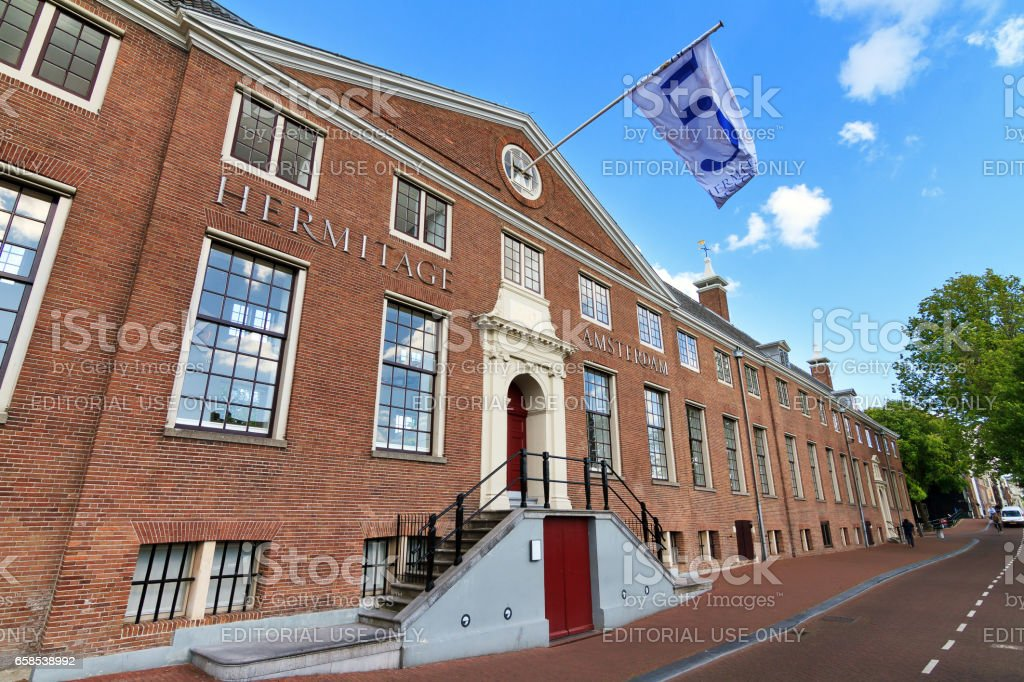 Hermitage Amsterdam stock photo