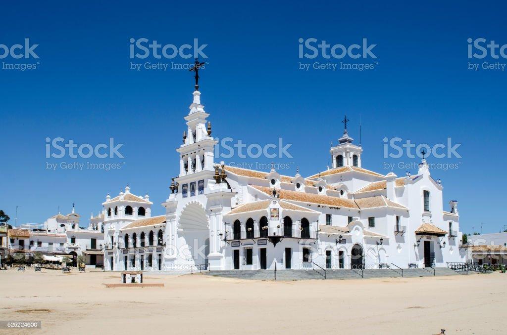 Hermitage del Rocio, Huelva stock photo