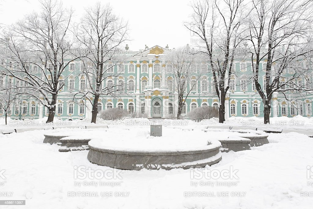 Hermitage museum royalty-free stock photo