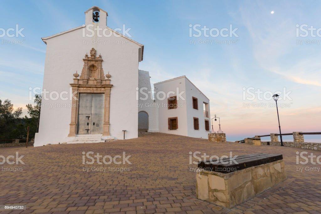 Hermitage of Santa Lucia. stock photo