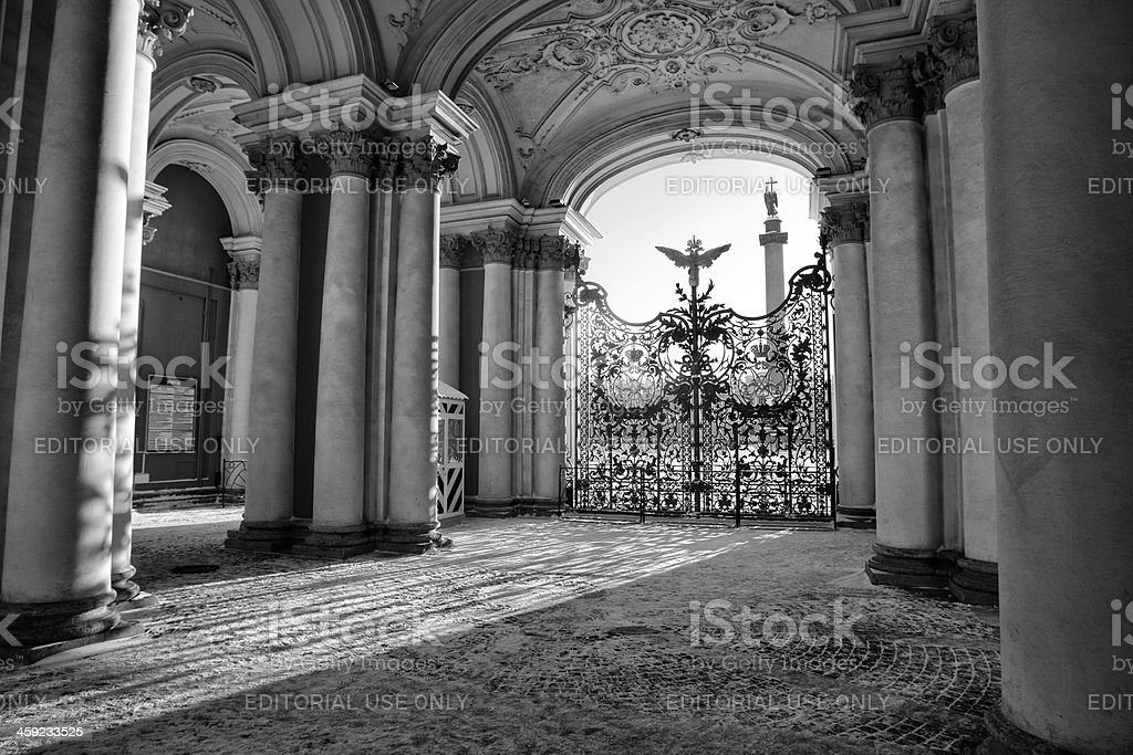 Hermitage royalty-free stock photo