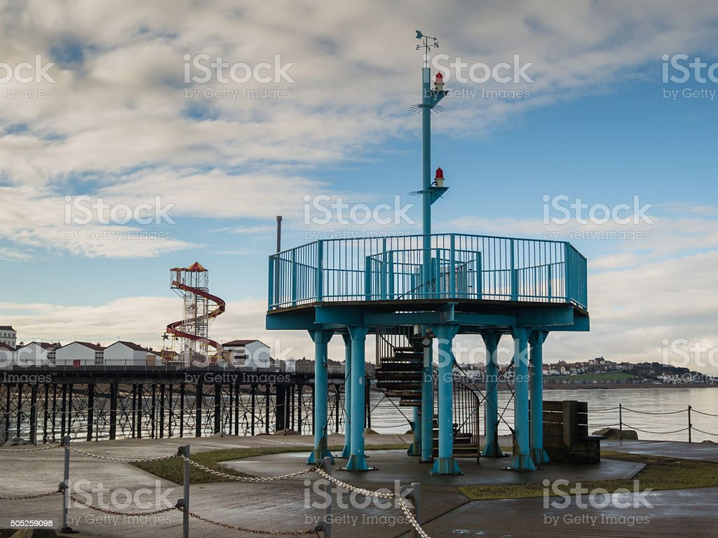 Herne Bay, Kent, UK , Viewing Gallery stock photo