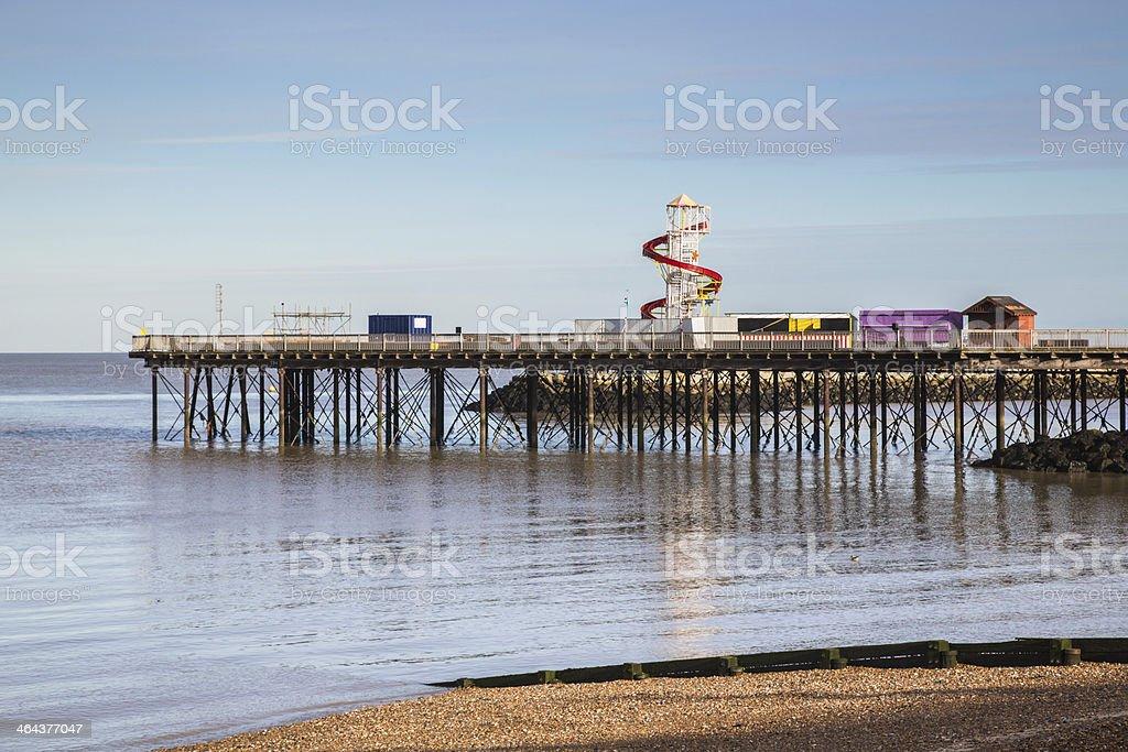 Herne Bay Pier stock photo