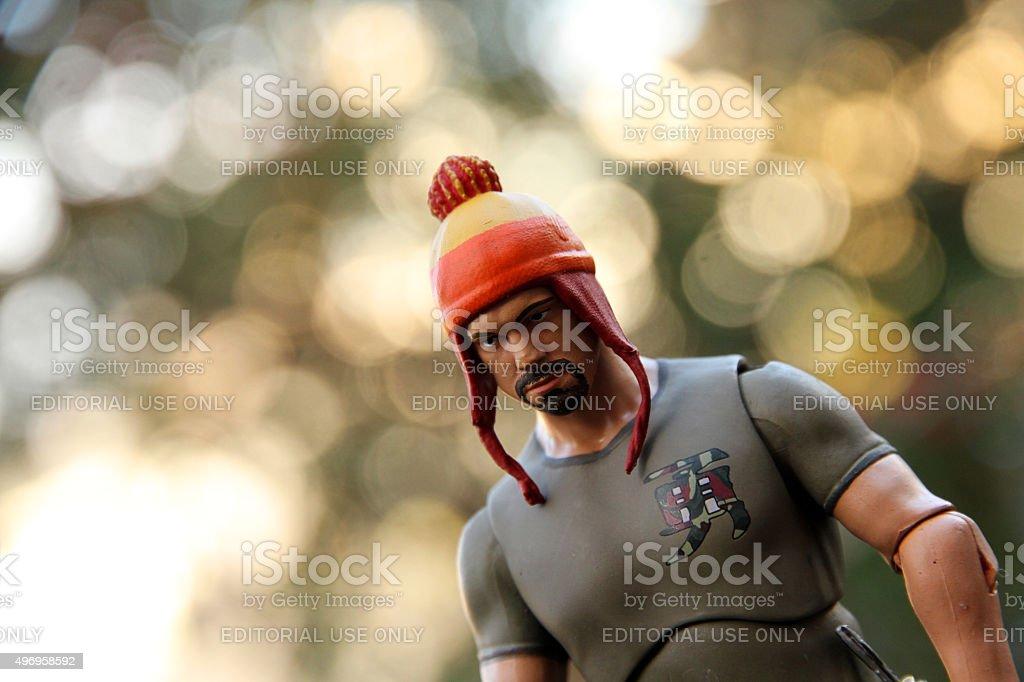 Hero of Canton stock photo