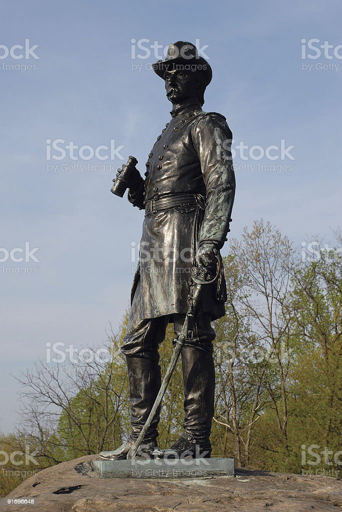 Hero of Little Round Top royalty-free stock photo