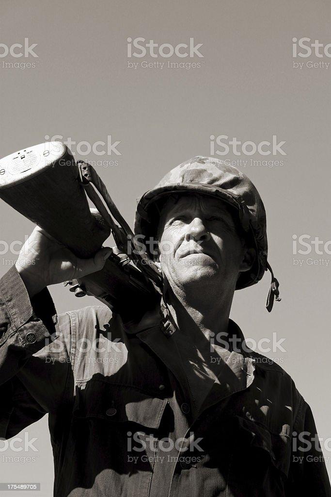 Hero. stock photo