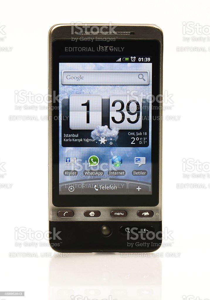 HTC Hero royalty-free stock photo