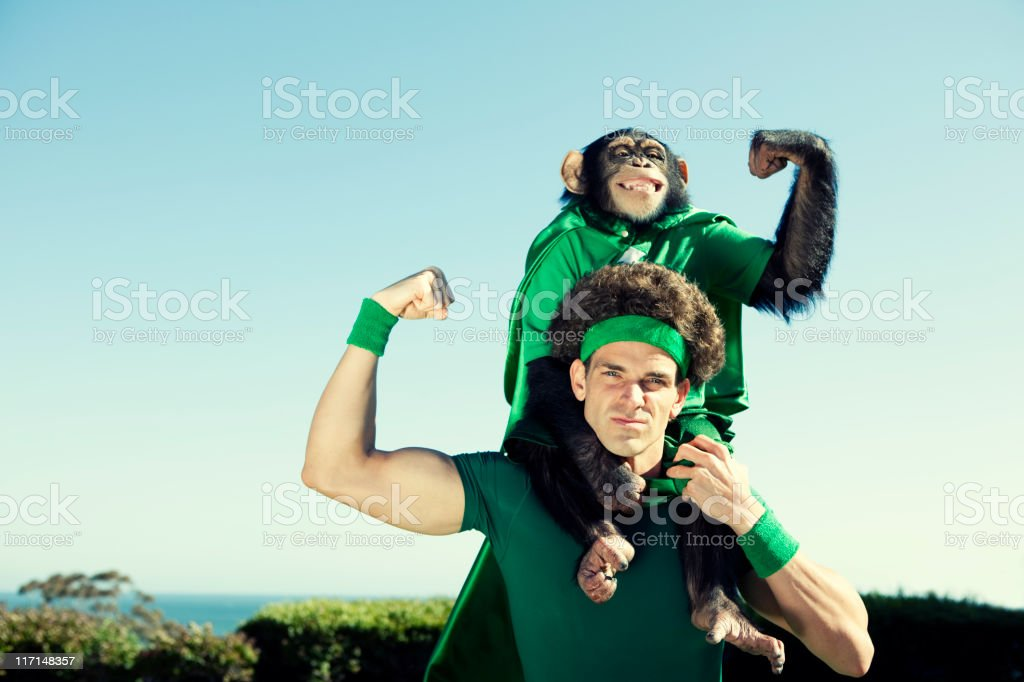 Heroes of the Environment stock photo